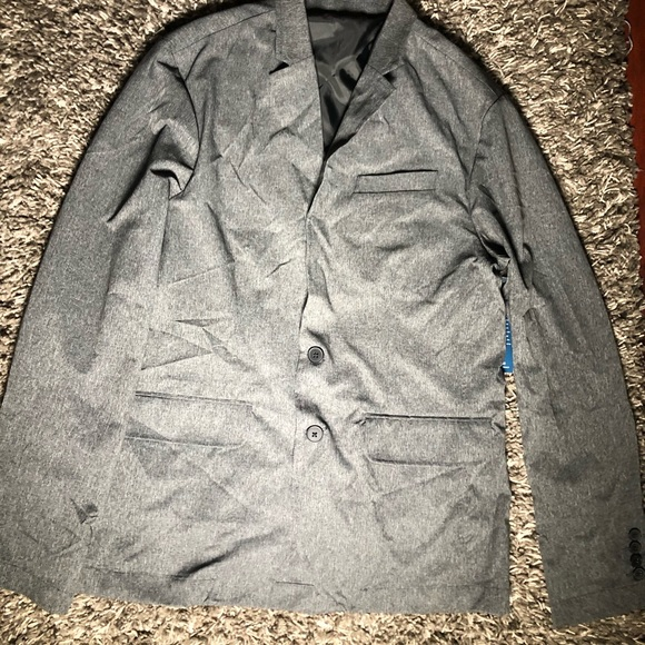 Kenneth Cole Other - Kenneth Cole Mens Mesh Tech Blazer Grey Size S